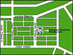 Bangsar Seafood Village Map location map